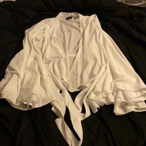 White long sleeve kimono